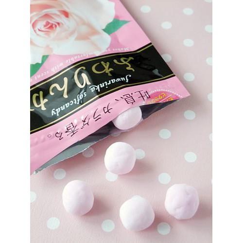 (Sẵn) Kẹo Hoa Hồng Hàm Hương Kracie Nhật Bản 32g