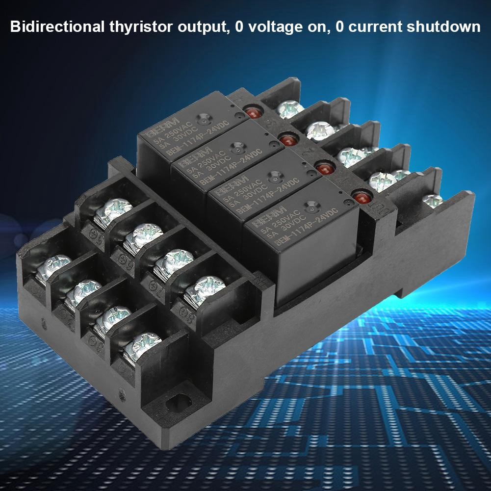 Cooltools 250VAC/30VDC 5A Terminal Block Relay Module For