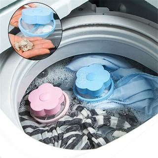 [CHO CON STORE] Phao Lọc Cặn Máy Giặt – Lọc Bụi Bẩn, Cặn , Xơ Vải Thông Minh set 3 cái