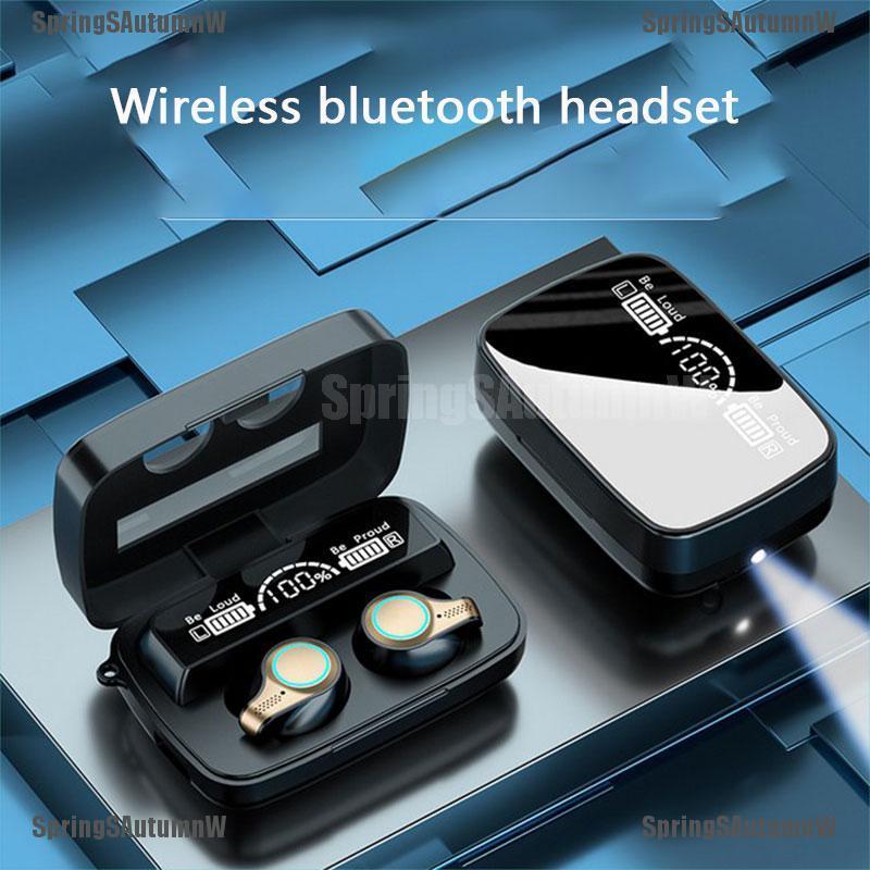 Tai Nghe Bluetooth 5.1 Kiểu Dáng Thể Thao Kèm Phụ Kiện