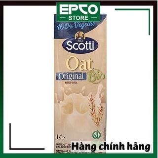 SỮA YẾN MẠCH RISO SCOTTI TỰ NHIÊN (HỘP 1L) – BIO Original Oat Milk