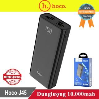 Sạc dự phòng Hoco J45 10.000mah ♥️Freeship♥️ Giảm 30k khi nhập MAYT30 - Pin sạc dự phòng Hoco