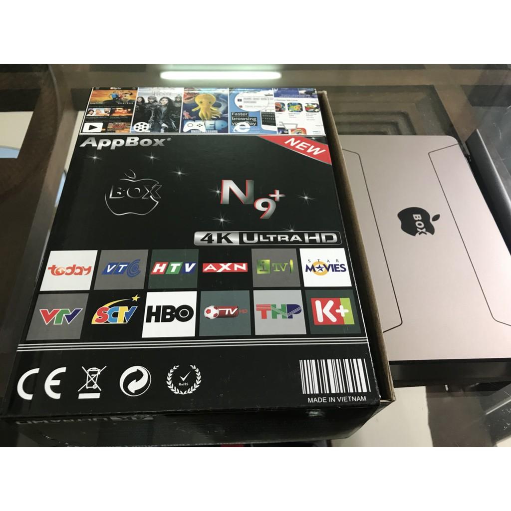 Android TV Box - Ram 1GB - APPBOX N9+ - Tặng TK xem phim HD