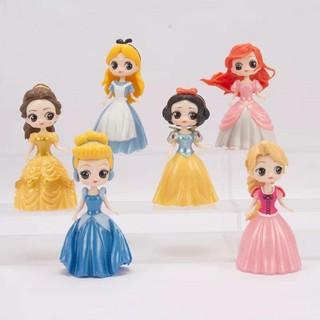 Set 6 công chúa thay váy