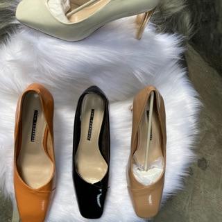 Giày cao gót mũo vuông