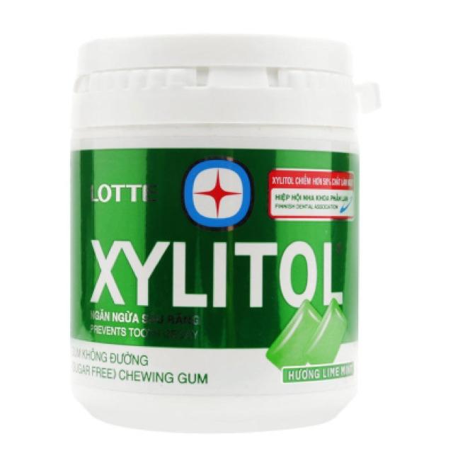 Kẹo gum không đường hương chanh bạc hà Xylitol 145g - 2562574 , 391166729 , 322_391166729 , 75000 , Keo-gum-khong-duong-huong-chanh-bac-ha-Xylitol-145g-322_391166729 , shopee.vn , Kẹo gum không đường hương chanh bạc hà Xylitol 145g