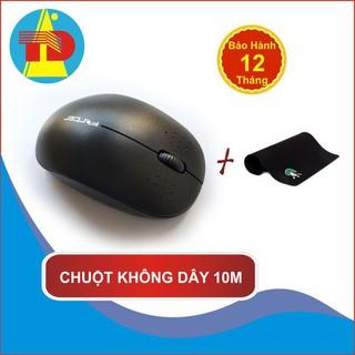 Chuột Không Dây Máy Tính Forter V181 – Kết nối 10m, Khuyến mãi pin, Khuyến mãi miếng lót chuột – Thái Dương SHop