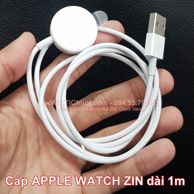 Cáp Apple Watch ZIN Theo Máy Chính Hãng dài 1m (sạc từ tính) Tổng kho Phân Phối Linh Kiện Phụ Kiện