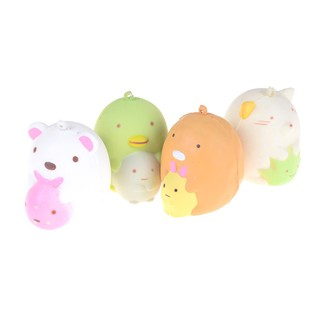 Cute Bear Cartoon Slow Rising bread Soft Cake Scented Kid Toy gift