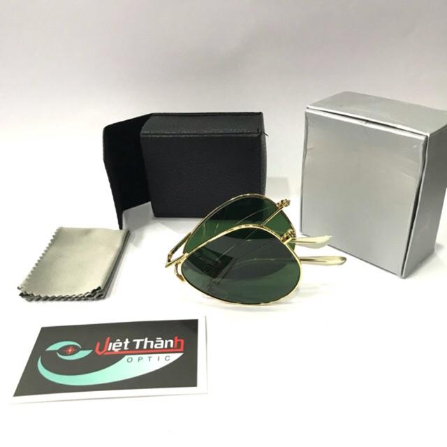 ❌ SALE GIÁ GỐC ❌ kính gập xếp nhỏ gọn - tròng kính thuỷ tinh - fullbox phụ kiện như