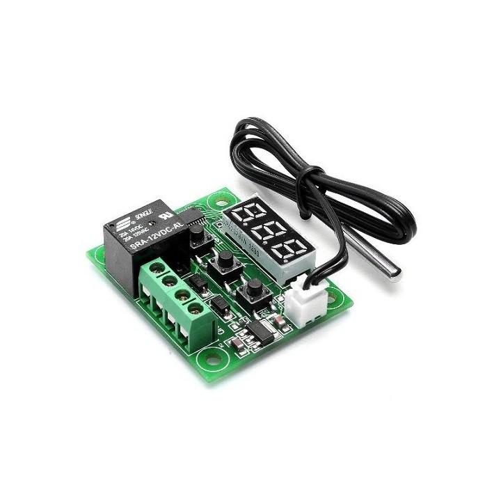 Mạch cảm biến kiểm soát nhiệt độ W1209 Relay 12VDC