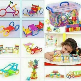 Sỉ Bộ đồ chơi ghép hình cho bé 200 chi tiết(J-Store)