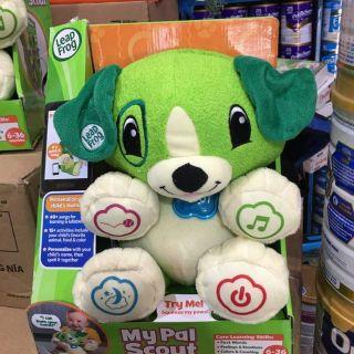 Sale 50% chó đồ chơi vừa làm loa vừa là chó phât nhạc dùng pin