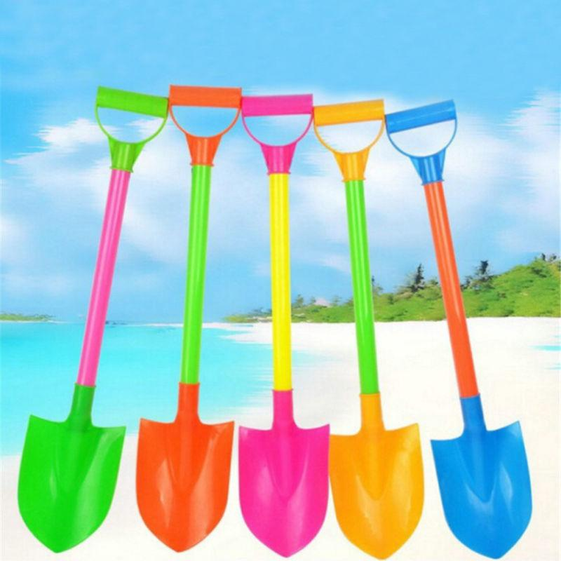 ❤Funny Snow Shovel Toys Children's Kids Beach Toy Plastic Spade Model Mold