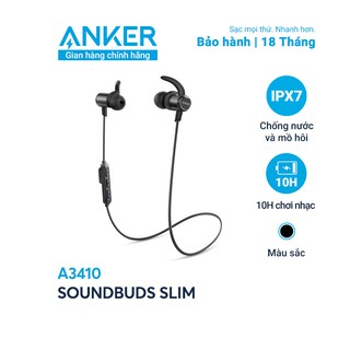 Tai nghe bluetooth SoundCore SoundBuds Slim (by ANKER) - A3410