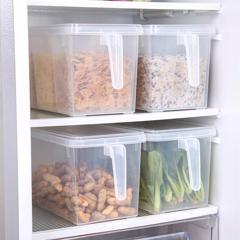 Hộp bảo quản thức ăn tủ lạnh có nắp và tay cầm tiện lợi | Shopee Việt Nam