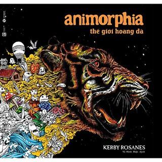 Sách - Animorphia - Thế Giới Hoang Dã (Sách Tô Màu Dành Cho Người Lớn) thumbnail