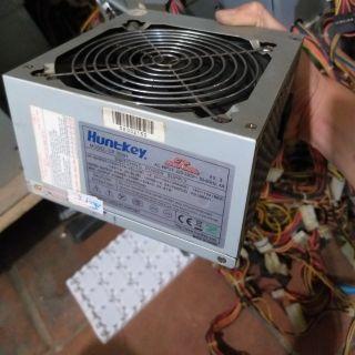 Nguồn máy tính 350w công xuất thực fan 12 huntkey