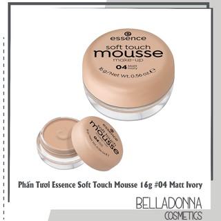 Phấn Tươi Trang Điểm Essence Soft Touch Mousse 16g 04 Matt Ivory thumbnail