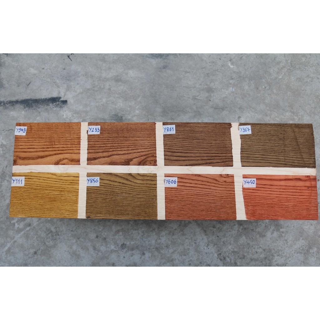 Sơn lau gỗ gốc nước Green - Bảng màu số 2 - (Water-Based Wood Stain)