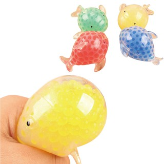 Colorful Dolphin Mesh Ball Stress Squeeze Grape Toys Anxiety Relief Stress Ball