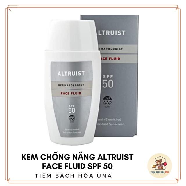 Kem chống nắng dành cho mặt Altruist Dermatologist Sunscreen Face Fluid SPF 50 - 50ml