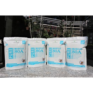 💥 COMBO 4KG (4 túi) sữa bột WHEY PROTEIN LACTOPROT MUSCLE-80A tập thể hình, tập GYM, tập thể thao – WHEY CONCENTRATE