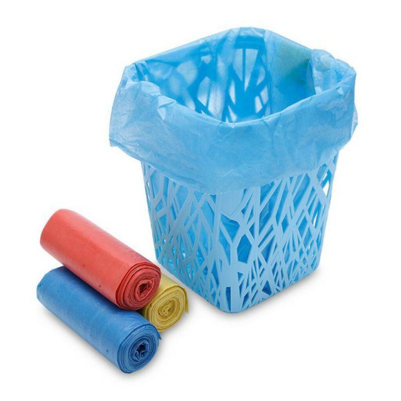 [1KG] Túi đựng rác tự hủy Tiểu, Trung, Đại, Cực đại | 3 cuộn bao rác, bịch nilon đựng rác