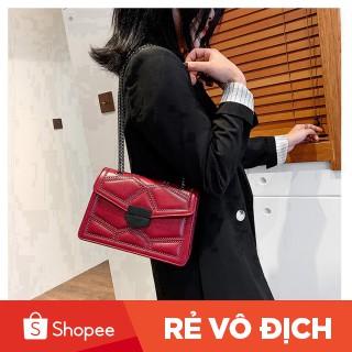 Túi xách nữ đeo chéo họa tiết khối cực chất 2021 TX19 túi xách đeo vai - Túi xách Chip Xinh