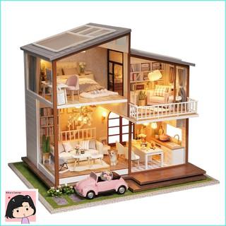 """Mô Hình Nhà Gỗ DIY """"Cuộc sống thanh thản"""""""