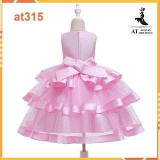 Váy bé gái xòe cao cấp- Đầm công chúa cho bé từ 10kg đến 35kg hàng quảng châu cao cấp