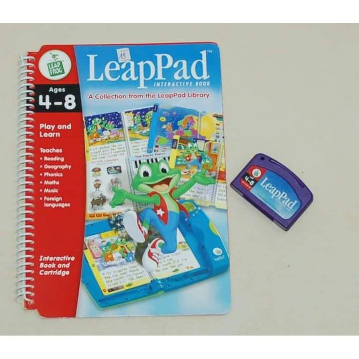 Bộ sách và băng cho máy LeapPad Learning System: LeapPad Interactive Book