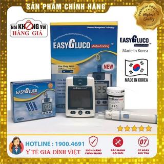 [Video] ⚡️Chính hãng Hàn Quốc⚡️ Máy đo đường huyết EasyGluco – đo tiểu đường – phát hiện tiểu đường