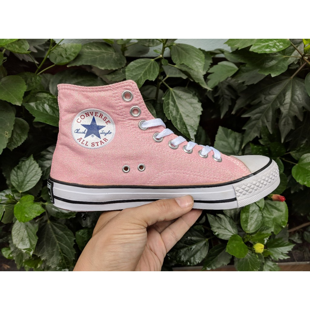 [FULL BOX] Giày Converse 1970s cổ cao màu hồng nhũ - 2644524 , 1261474160 , 322_1261474160 , 165000 , FULL-BOX-Giay-Converse-1970s-co-cao-mau-hong-nhu-322_1261474160 , shopee.vn , [FULL BOX] Giày Converse 1970s cổ cao màu hồng nhũ