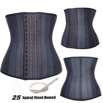 Đai latex định hình eo 25 xương cao cấp 29cm Italy (có size xxs)