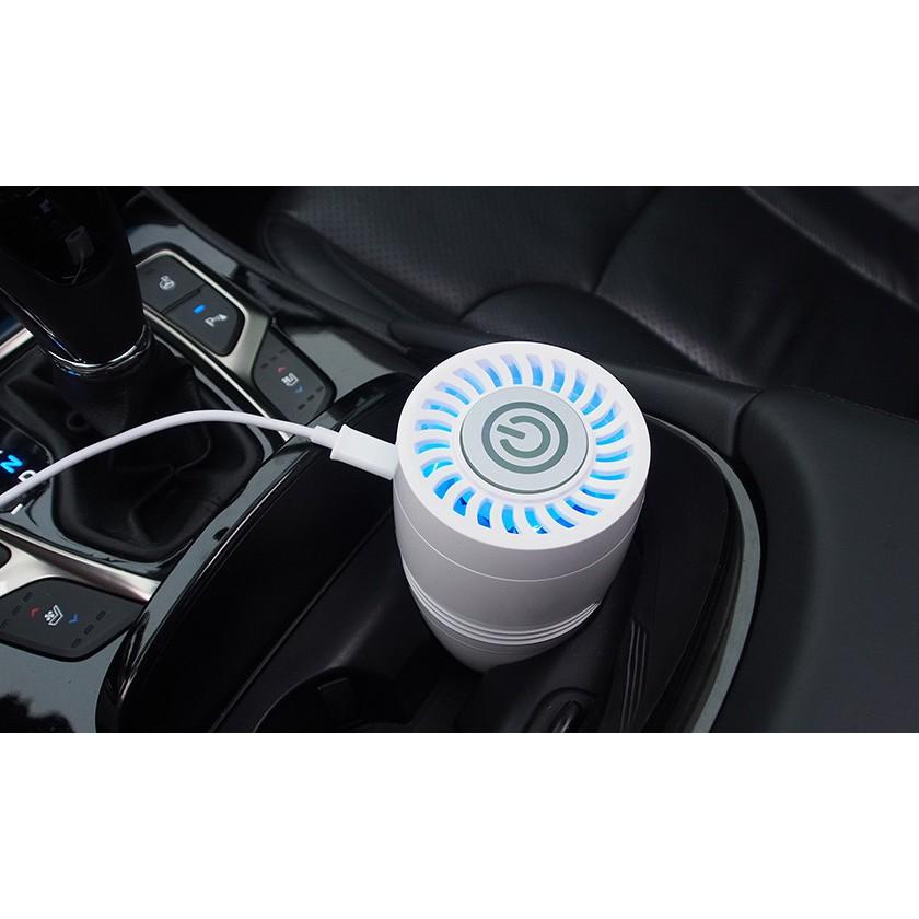 Máy lọc không khí nano và xông tinh dầu cho ô tô, văn phòng, phòng ngủ AirPOT - nhập khẩu trực tiếp từ Hàn Quốc