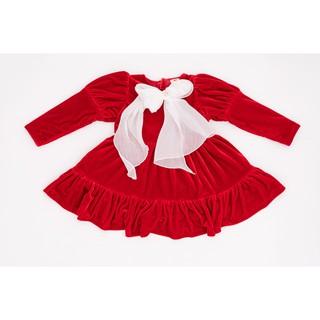 Váy Nhung Công Chúa Cho Bé Gái Crown Space Cao Cấp CKGL6810201 Size 14 - 25Kg