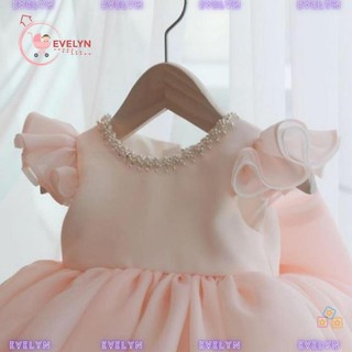 Váy Trẻ Em Công Chúa Evelyn Mã VF11 Thời Trang Cho Bé Gái 0-9 Tuổi Mặc Dự Tiệc Sinh Nhật
