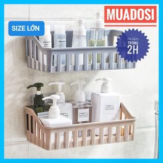 Kệ Nhà Tắm Kệ Để Đồ Phòng Tắm Kệ Nhà Bếp Dán Tường Đa Năng/ giá để đồ nhà tắm/ giá đặt đồ tiện lợi