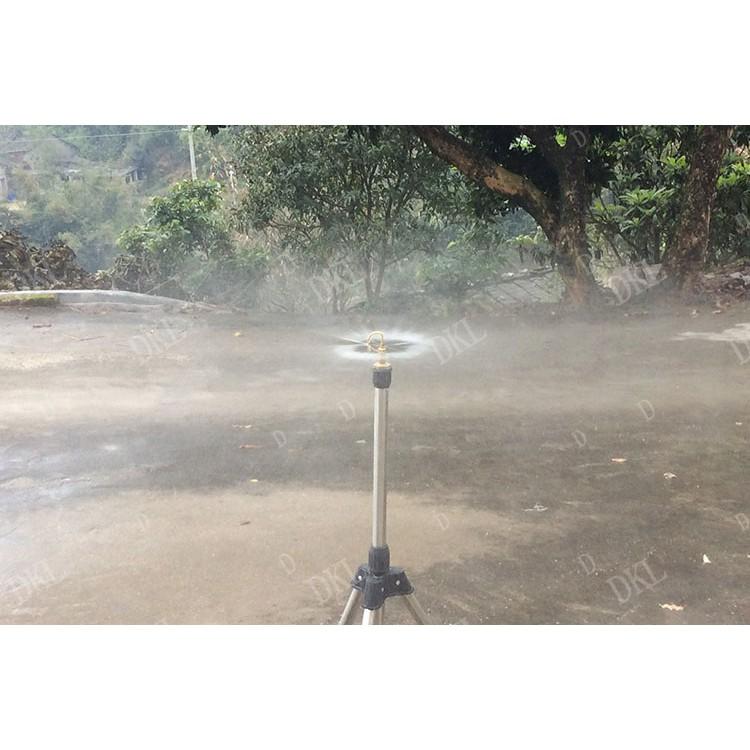 Béc phun sương bằng đồng 360 độ ren lắp ren ngoài 21mm tưới hoa lan, vườn rau, béc tưới cây