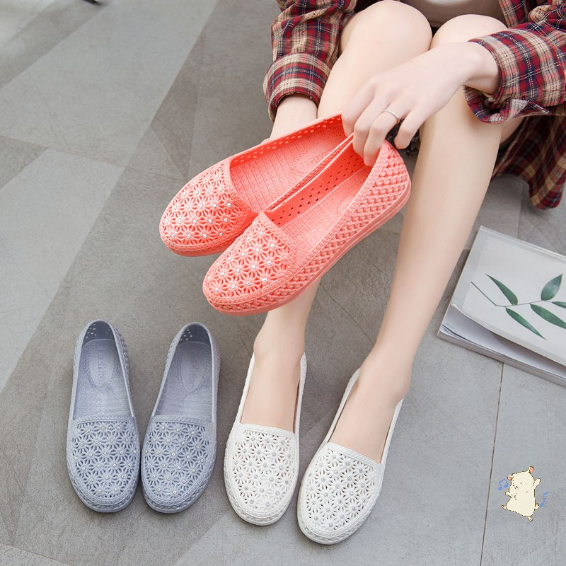Giày nhựa đi mưa, đi biển - Chất liệu siêu nhẹ - Nhiều màu