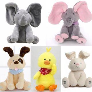 (Biệt đội ú òa ) Voi ú òa,chó,vịt,thỏ.siêu dễ thương,còn biết hát !..
