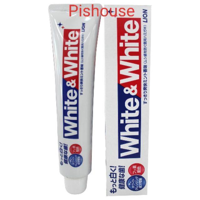 (HCM) Kem đánh răng White&White 150g Nhật