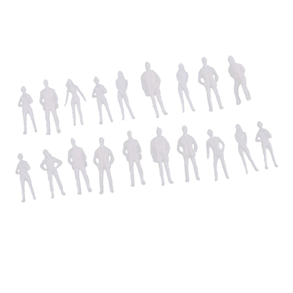 Bubble Shop61 1:75 Scale Model Miniature Figures Architectural Model Human Scale People