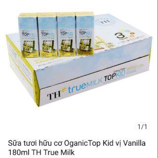 SỮA TƯƠI HỮU CƠ OGANIC TOPKID vị baby 180ml TH True milk. Đát t8