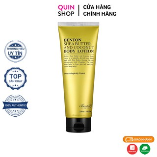 Sữa Dưỡng Thể Benton Shea Butter And Coconut Body Lotion