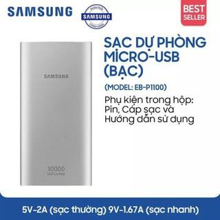 Pin Sạc Dự Phòng Samsung 10.000mAh Type-C - Hàng Chính Hãng - Type-C 10.000mAh