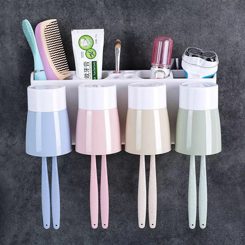 Bộ dụng cụ để bàn chải (gồm khay và cốc, ko gồm bàn chải)