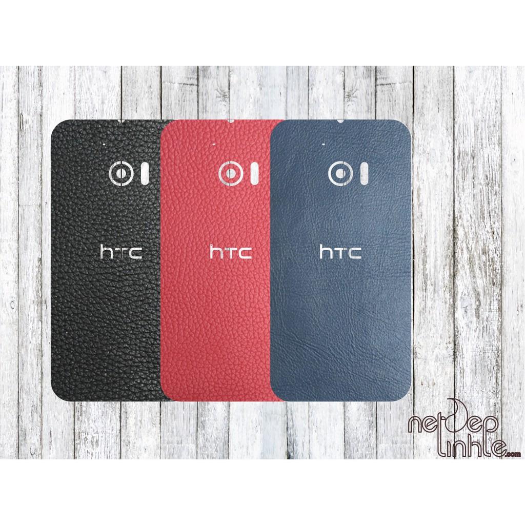 [ Hot_Sale ] Miếng dán da HTC 10