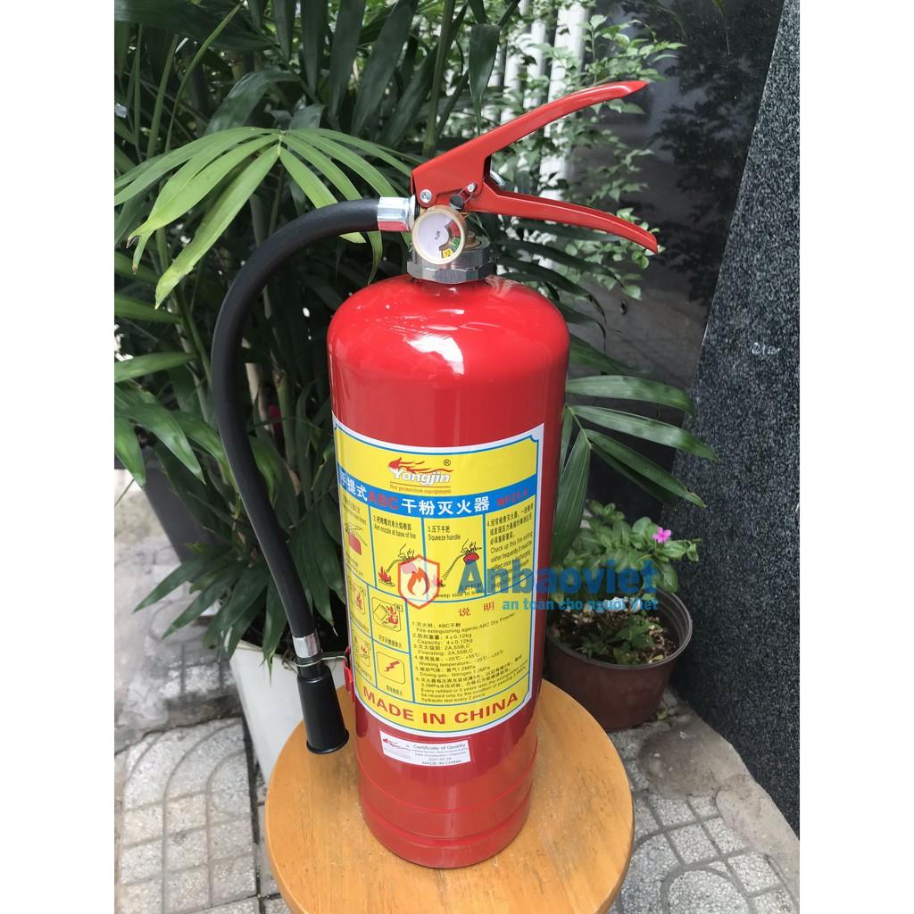 Bình chữa cháy bột BC 4kg – MFZ4